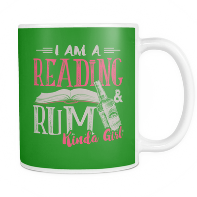 I Am Reading & Rum Kinda Girl Mug
