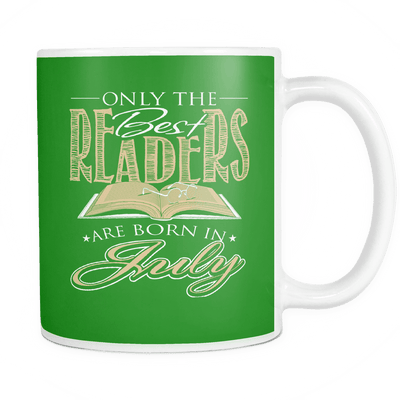 Only The Best Readers Are Born In July Mug