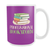 Professional Bookworm 15oz Mug