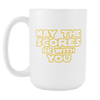 May The Scores Be With You 15oz Mugs
