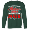 The Best Way To Spread Christmas Cheer Is Teaching Math To Everyone Here Ugly Christmas Sweater
