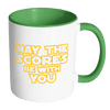 May The Scores Be With You 11oz Accent Mug