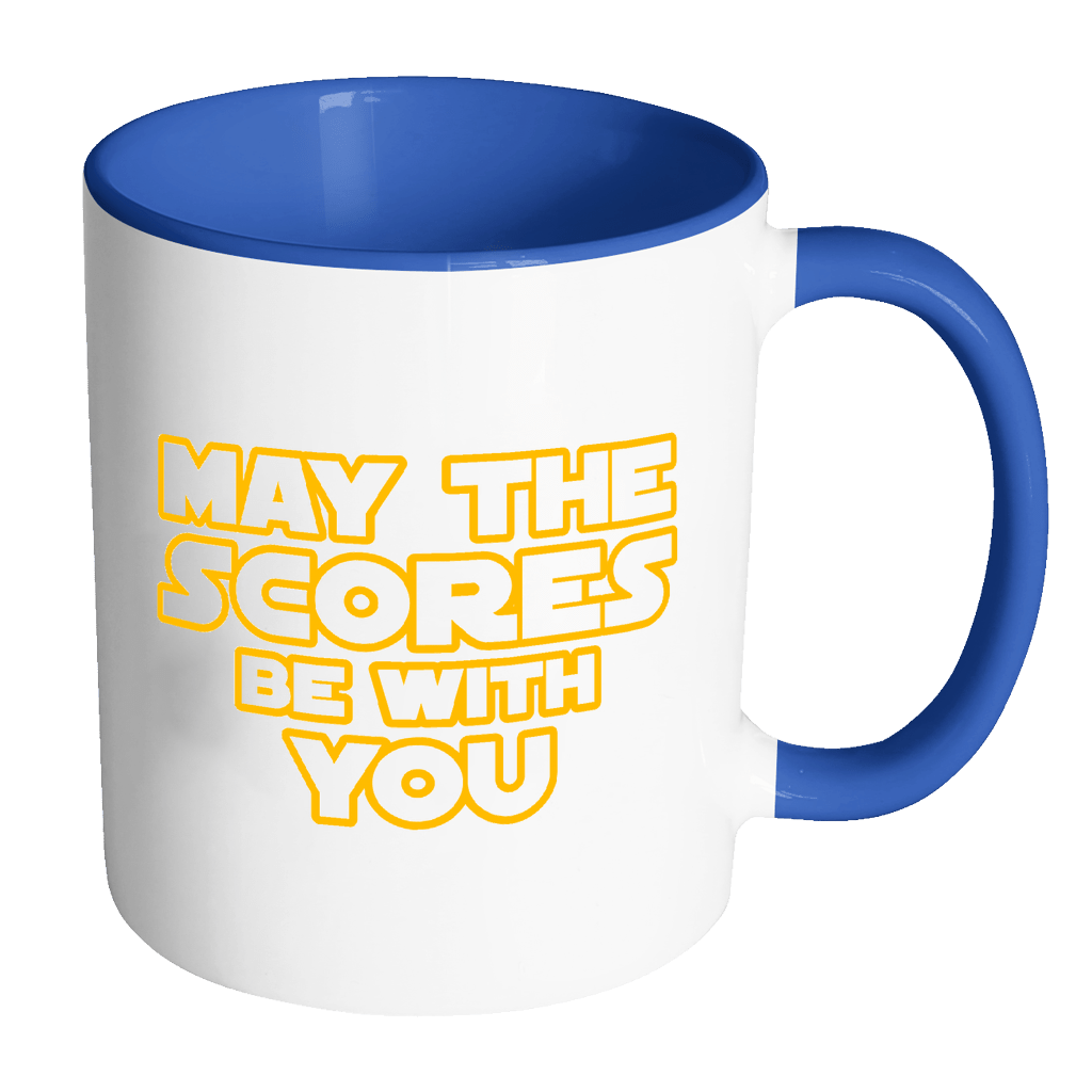 May The Scores Be With You 11oz Accent Mug - Awesome Librarians