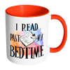 I Read Past My Bedtime Accent Mug