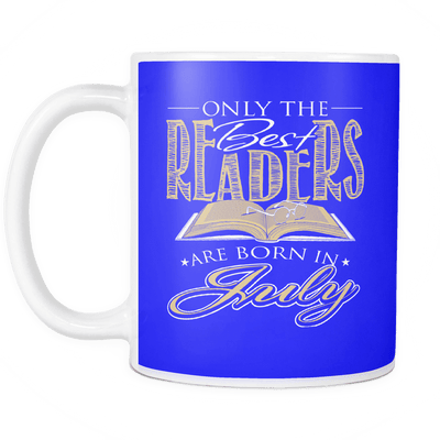 Only The Best Readers Are Born In July Mug - Awesome Librarians