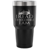 I Read Therefore I Am Tumbler - Awesome Librarians