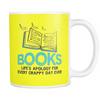 Books Life's Apology For Every Crappy Day Ever Mug - Awesome Librarians - 7