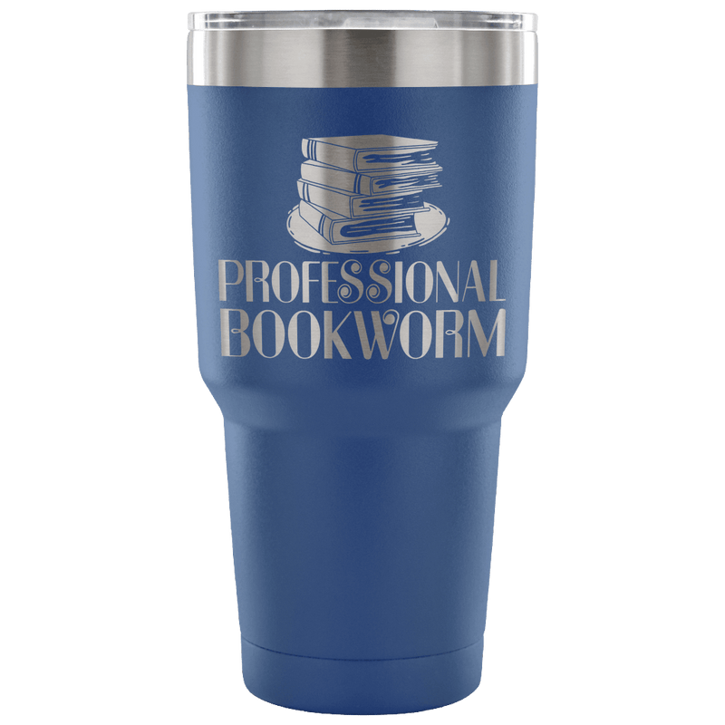 Professional Bookworm Tumbler - Awesome Librarians