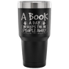 A Book A Day Keeps The People Away Tumbler - Awesome Librarians