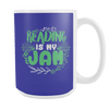 Reading Is My Jam 15oz Mug - Awesome Librarians