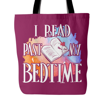 I Read Past My Bedtime Tote Bag - Awesome Librarians