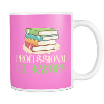 Professional Bookworm 11oz Mug - Awesome Librarians