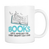 Books Life's Apology For Every Crappy Day Ever Mug - Awesome Librarians - 1