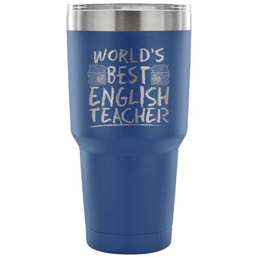 World's Best English Teacher Tumbler