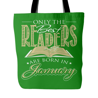 Only The Best Readers Are Born In January Tote Bag - Awesome Librarians