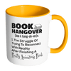 Book Hangover Accent Mug - Awesome Librarians