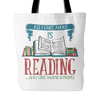 All I Care About Is Reading... And Like Maybe 3 People Tote Bag - Awesome Librarians