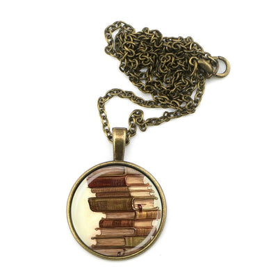 More Books, Please! Bronze Necklaces For Readers - Awesome Librarians - 2