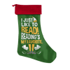 I Just Like To Read Reading's My Favorite Christmas Stocking - Awesome Librarians