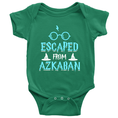 Escaped From Azkaban Baby Onesie - Awesome Librarians