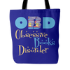OBD Obsessive Books Disorder Tote Bag