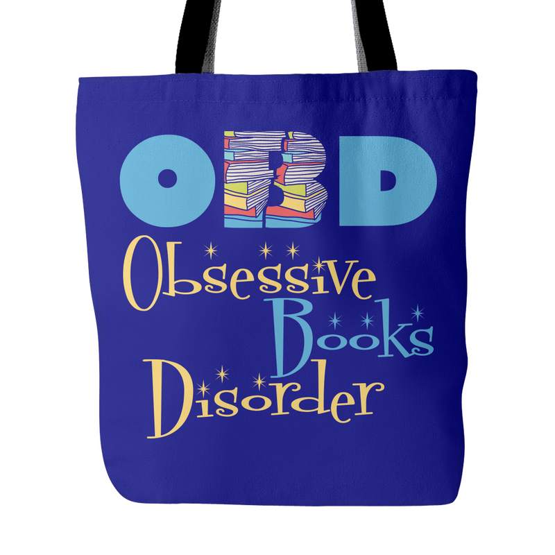 OBD Obsessive Books Disorder Tote Bag - Awesome Librarians
