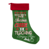The Best Way To Spread Christmas Cheer Is Teaching Everyone Here Christmas Stocking