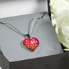 To My Love My Life's Number One Heart Necklace