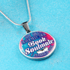 Some Girls Never Meet Their Book Soulmate I Married Mine Round Necklace