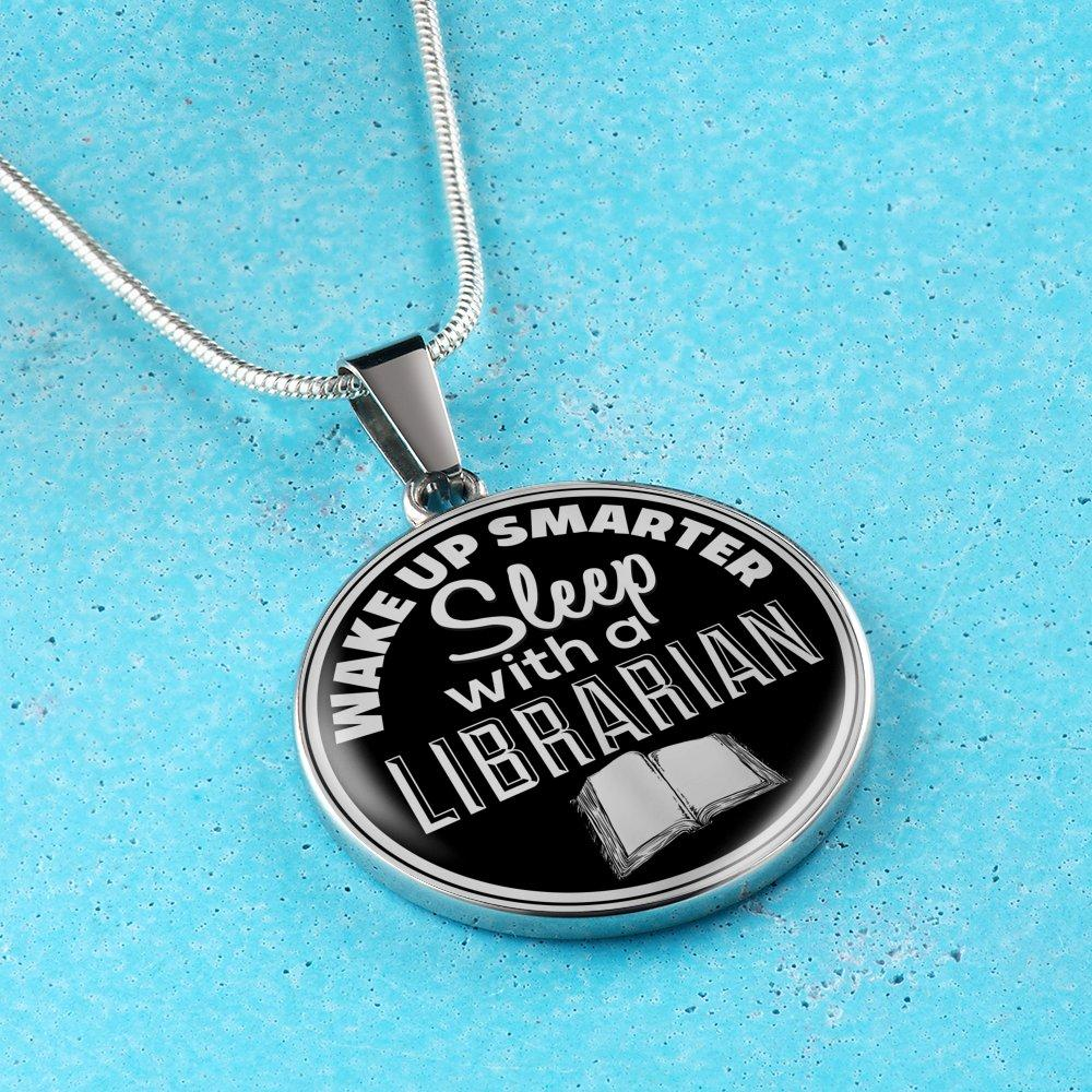 Wake Up Smarter Sleep With A Librarian Necklace - Awesome Librarians