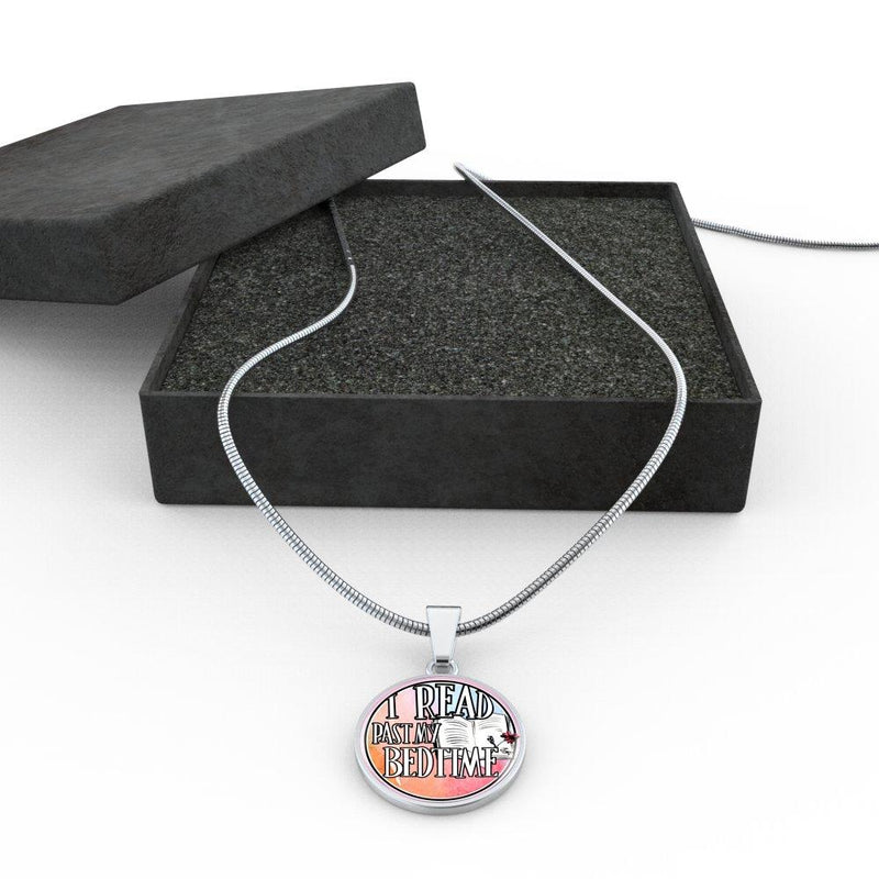 I Read Past My Bedtime Necklace - Awesome Librarians