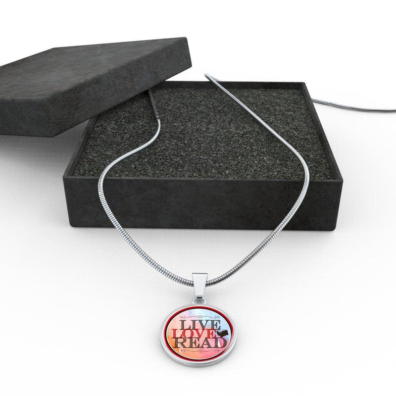 Live Love Read Necklace - Awesome Librarians