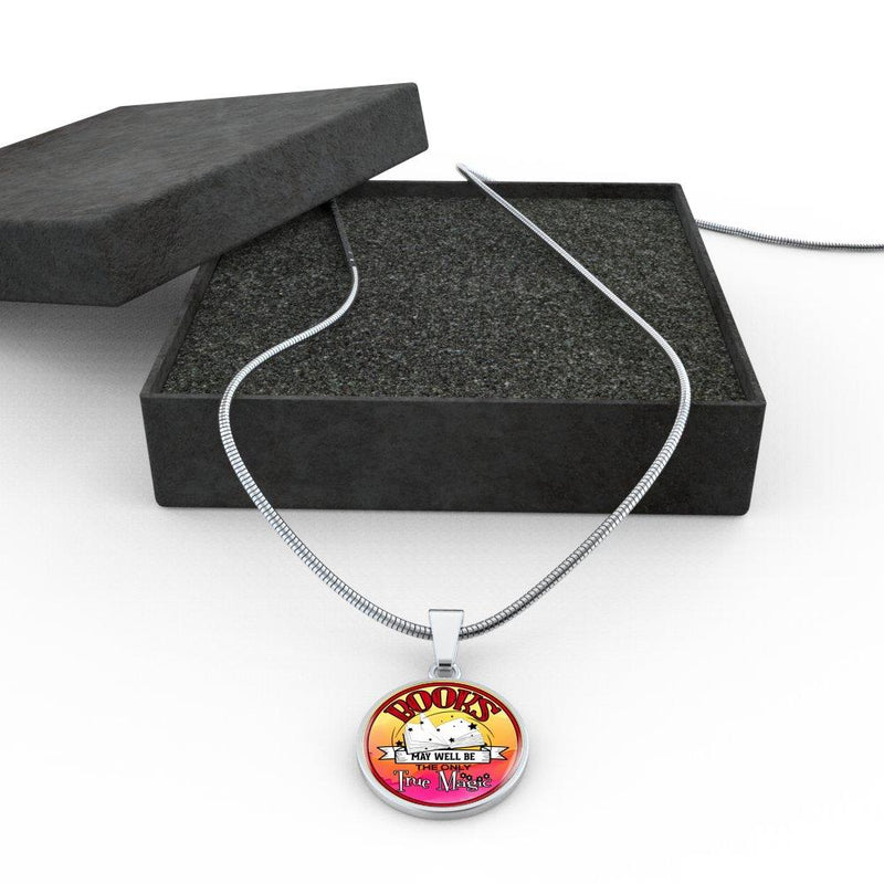 Books May Well Be The Only True Magic Necklace - Awesome Librarians