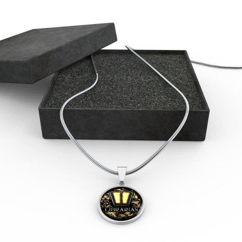 Librarian Necklace - Awesome Librarians