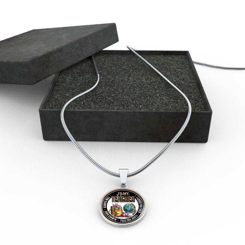 To My Teacher I Loved You Then I Love You Still Always Have Always Will Necklace - Awesome Librarians