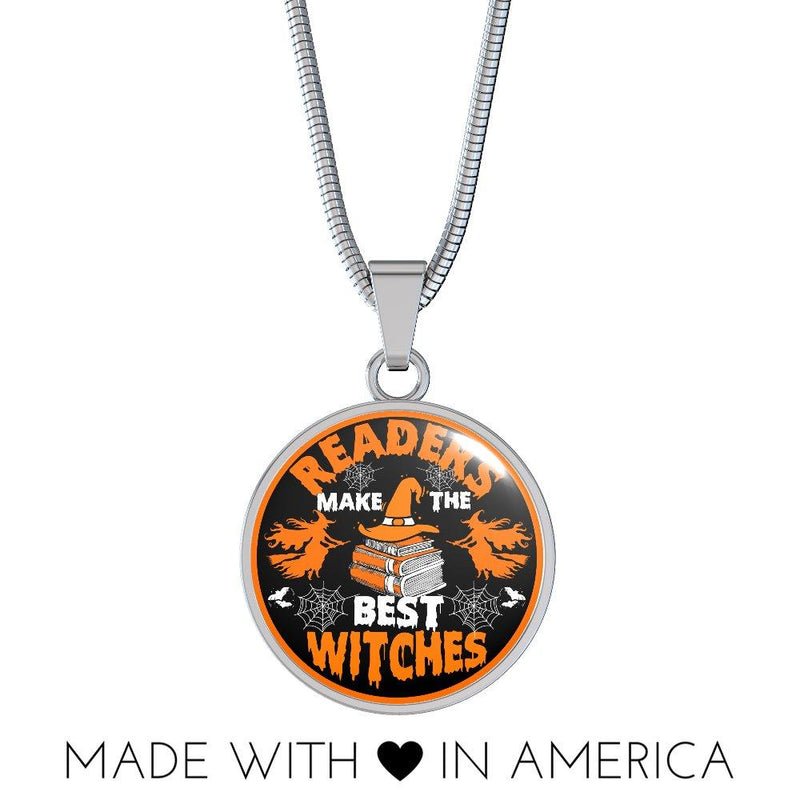 Readers Make The Best Witches Necklace - Awesome Librarians