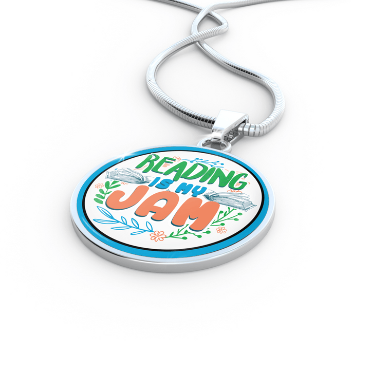 Reading Is My Jam Necklace