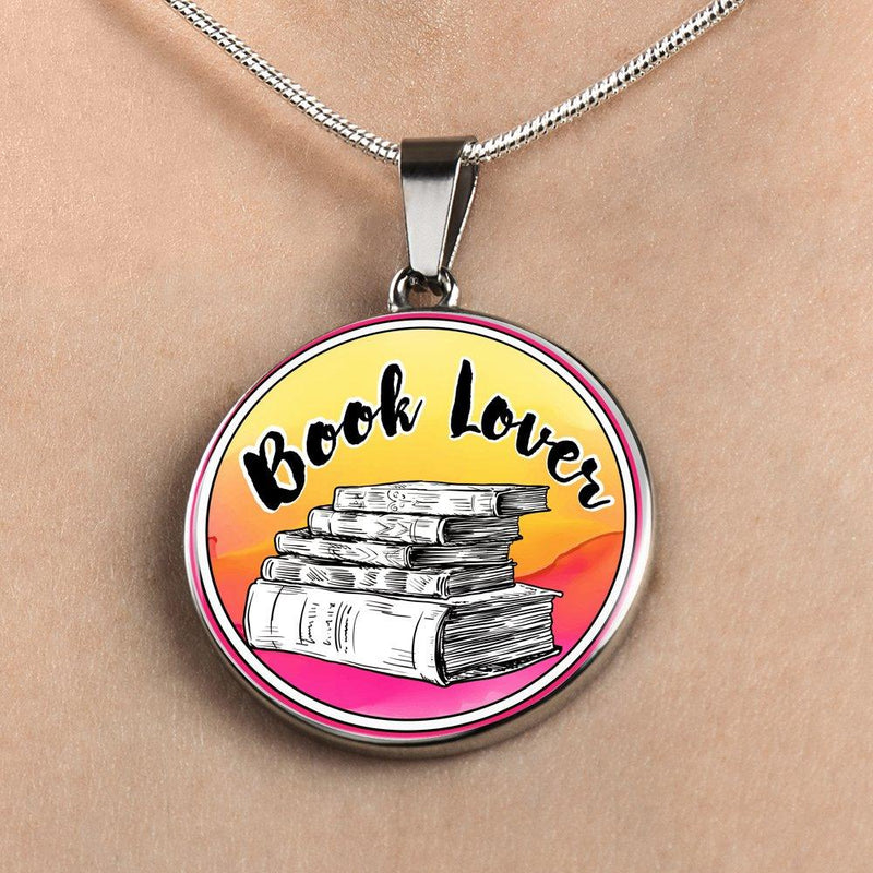 Book Lover Necklace - Awesome Librarians