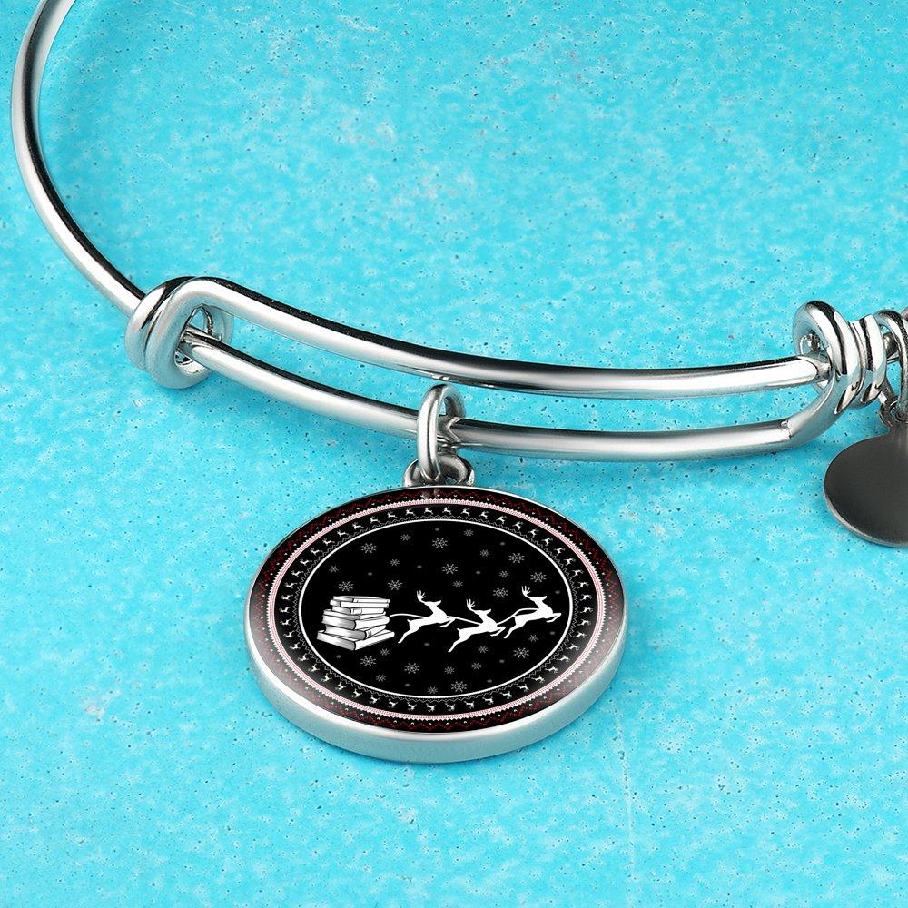 Bookworm Christmas Bracelet - Awesome Librarians