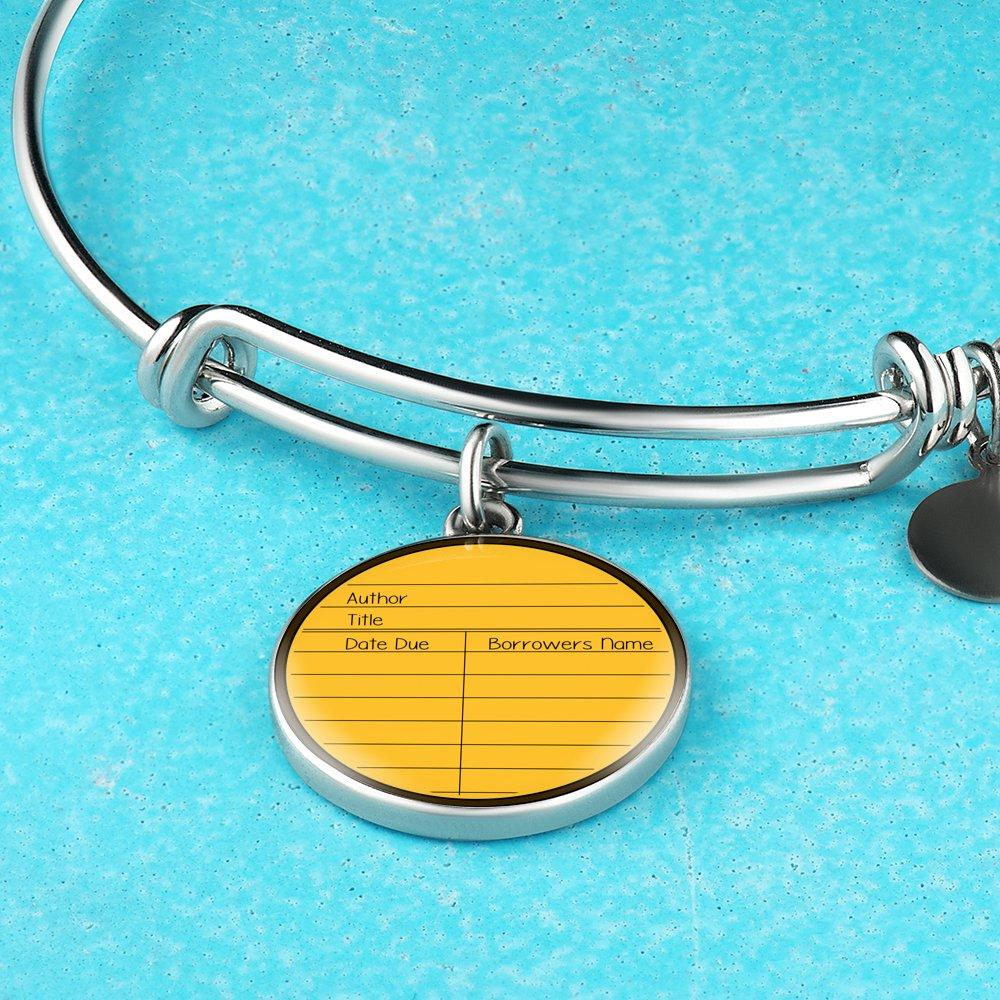 Due Date Card Bracelet - Awesome Librarians