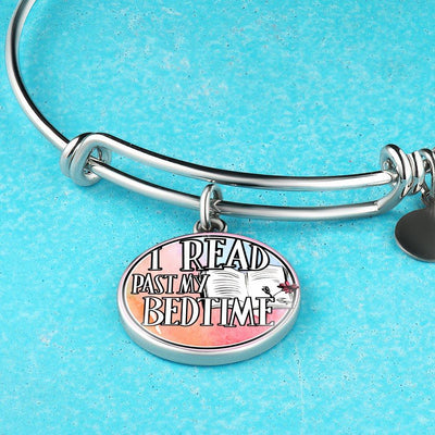 I Read Past My Bedtime Bracelet