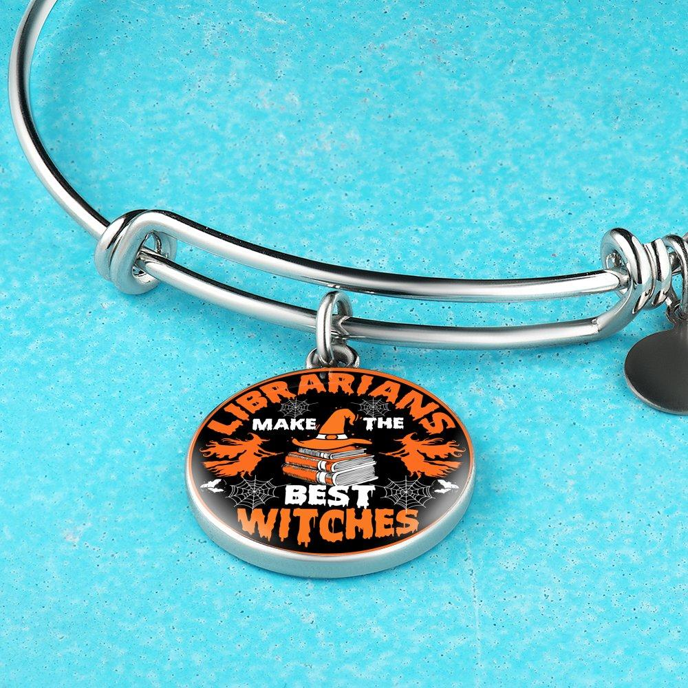 Librarians Make The Best Witches Bracelet - Awesome Librarians