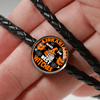Librarians Make The Best Witches Leather Circle Charm Bracelet
