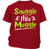Snuggle This Muggle Youth T-Shirts - Awesome Librarians