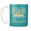 Only The Best Readers Are Born In December Mug