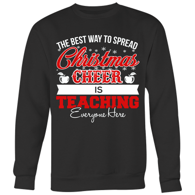The Best Way To Spread Christmas Cheer Is Teaching Everyone Here Ugly Christmas Sweater