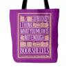 Too Many Books? I Think What You Mean Is Not Enough Bookshelves Tote Bag