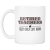 Retired Teacher Every Child Left Behind Mug - Awesome Librarians - 2