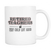 Retired Teacher Every Child Left Behind Mug - Awesome Librarians - 1
