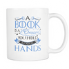 A Book Is A Dream You Hold In Your Hands Mug - Awesome Librarians